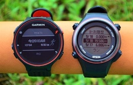 【比較】ガーミン235Jとエプソンsf-850装着ラン&レビュー